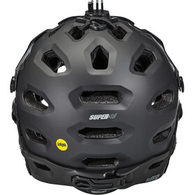 Bell Super 3R MIPS Casco, matte black/gray